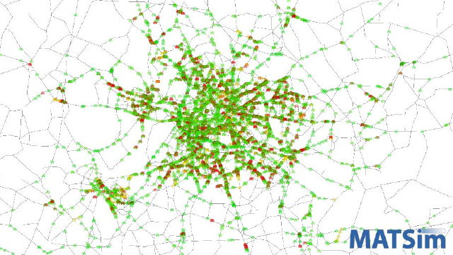 Traffic and Public Transit in Berlin